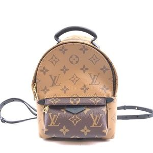Palm Spring Mini Monogram Canvas Backpack